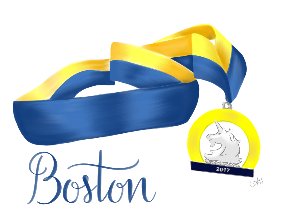 Happy Patriots' Day Boston! | Boston Marathon Art