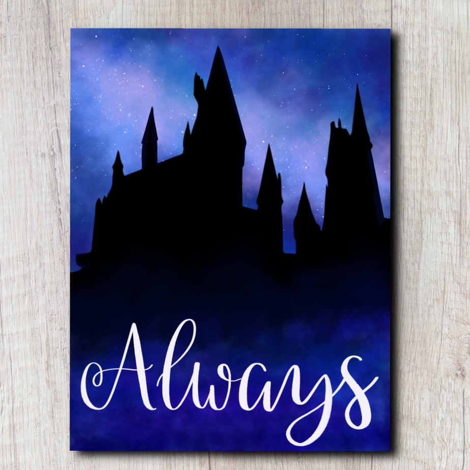 Always | Harry Potter Painting