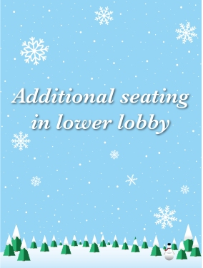 2015 2017 Holiday Buffet-Poster- Downstairs Seating V2-01