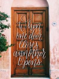 door lettering