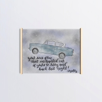 Harry Potter Fan Art Weasly Car