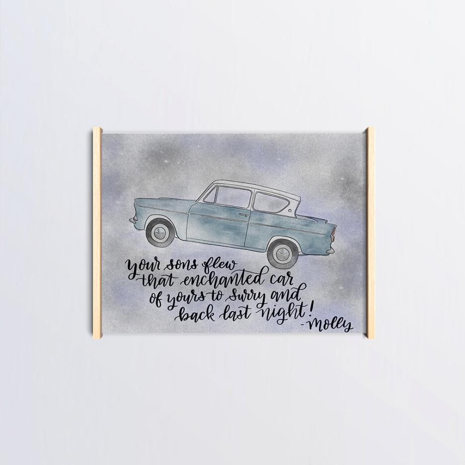 Harry Potter Fan Art Weasly Car