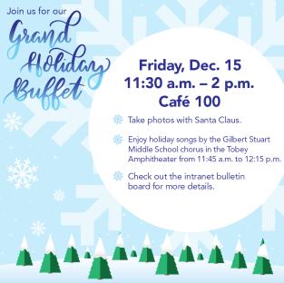 2015 Holiday Buffet Winter Wonderland VISIX 2017 V1