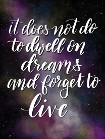 dwell on dreams